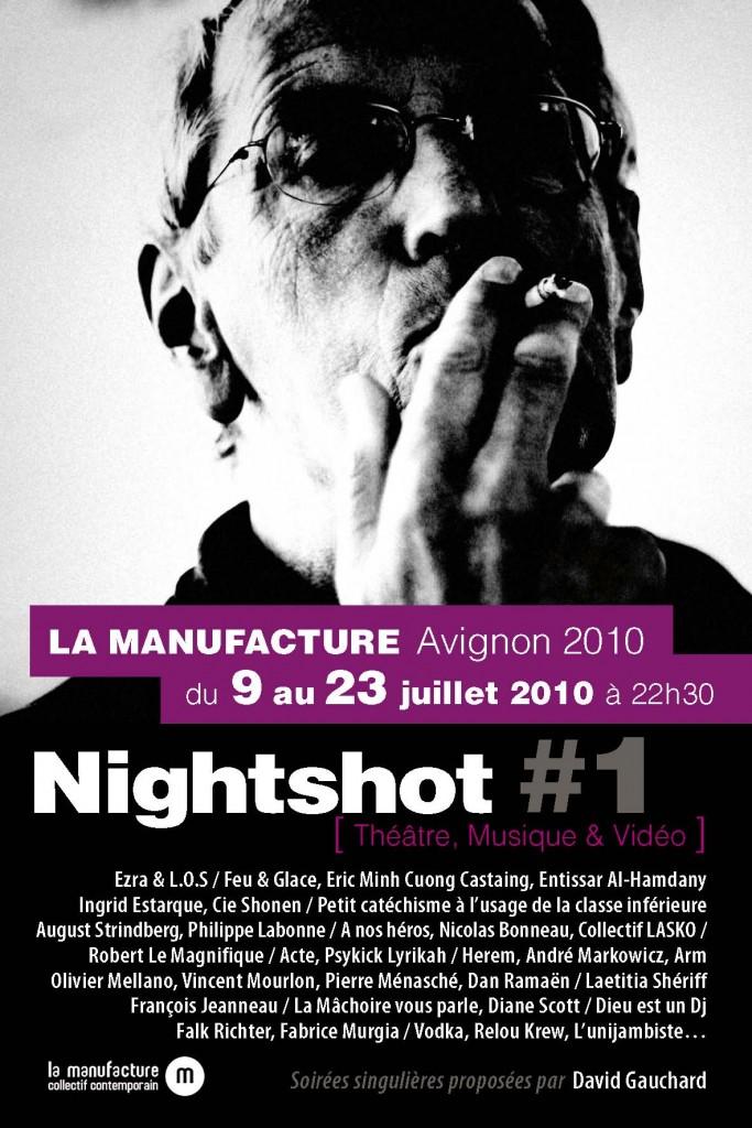 NightShot #1 AFFICHE